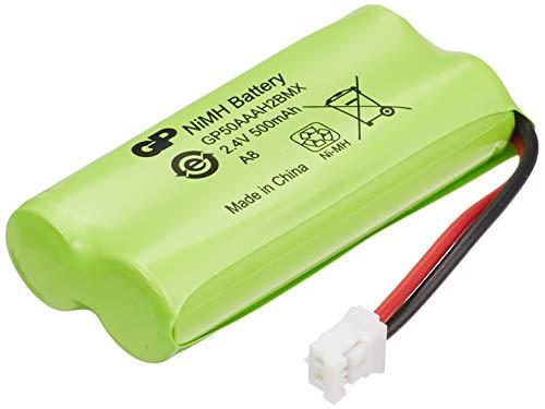 GP Batteries ACCU-T436 - Pila recargable (Níquel metal hidruro, 500mAh, 2.4 V)