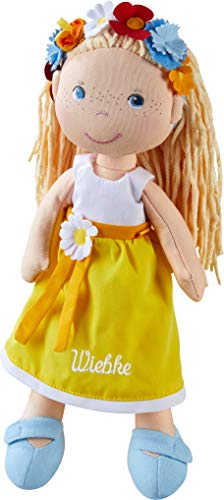HABA 303664 Accesorio para muñecas - Accesorios para muñecas (1.5 yr(s),, Polyester, Girl, 110 mm, 170 g)