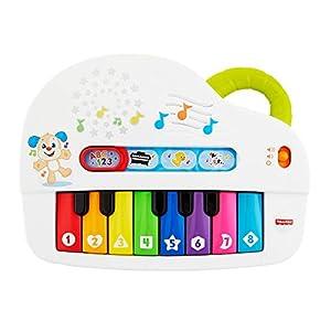 Fisher-Price GFK03, Piano para niños a partir de 6 meses, versión italiana
