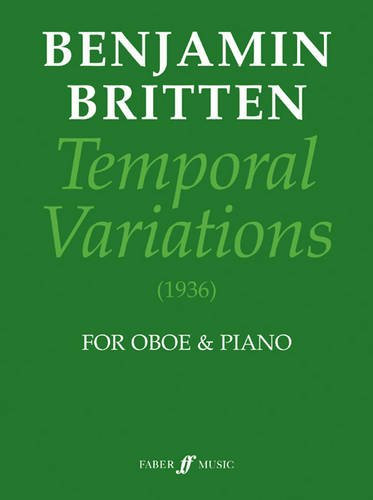 Temporal Variations: (Oboe and Piano) (Faber Edition)