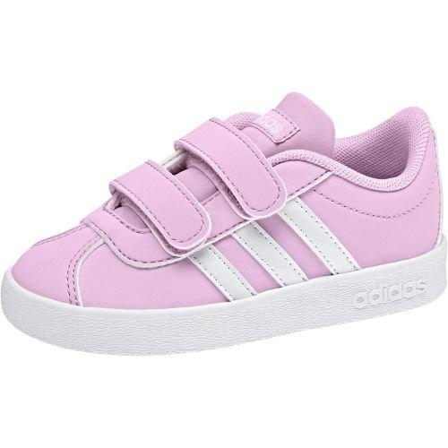 adidas Unisex Baby VL Court 2.0 CMF I Hausschuhe, Pink (Rosesc/Ftwbla / Gridos 000), 20 EU