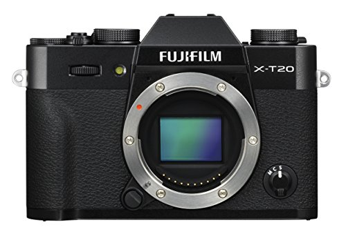 Fujifilm X Series X-T20 Mirrorless Digital Camera (Black (Body Only))