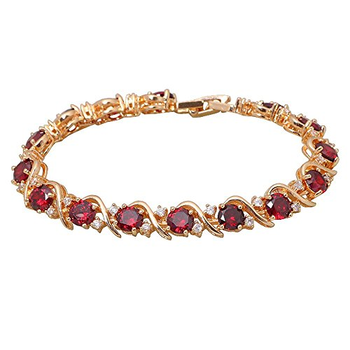 18k-yellow-gold-plated-bracelet-red-garnet-bracelets-for-womens-fashion-jewelry-pulseras-185cm-728-i
