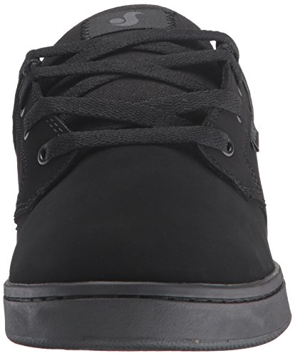 DVS Shoes Quentin, Scarpe da Skateboard Uomo Nero (Schwarz (BLK/BLK 010))