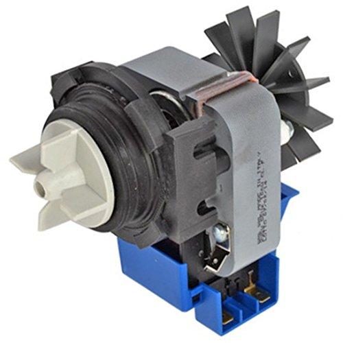 Ablaufpumpe Pumpe spares2go, Boden & Gehäuse mit Shaded Pole Motor für Miele Waschmaschine -