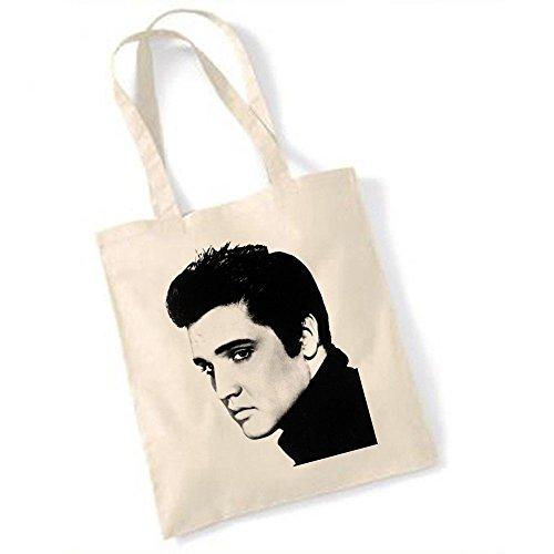 Totebag Elvis Presley Portrait Noir et blanc