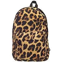 Leap-G Sac à dos pour femme Imprimé léopard Sac à dos tendance Sac à 4db3d88d8c4