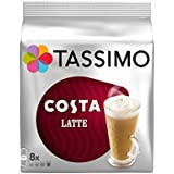 1x Costa Tassimo Latte X3Pack, total 48T Discos cápsulas por Tassimo