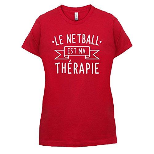 Le netball est ma thérapie - Femme T-Shirt - 14 couleur Rouge