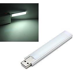 MASUNN 10 cm 1.4 W 8 SMD 5152 Aluminium Shell Strip Super Bright USB LED Lights