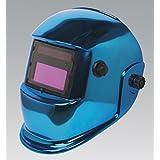 SEALEY pwh598b Casque de soudage automatique Enrouleur Occultant Abat-jour 9–13–Bleu