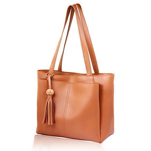 5. Women Marks TAN Colour Handbag