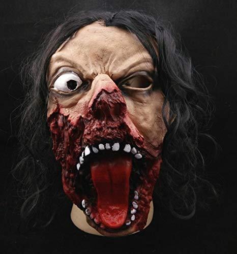Halloween Maske, Spartan Horror Latex Maske Mit Zyklopen Maske Horror Lustige Halloween Kostümparty Für Kinder Und Erwachsene