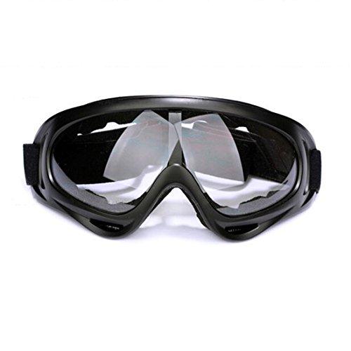 Andux Zone Jagd Airsoft X400 Wind Staubschutz Tactical Schutzbrille-Motorrad Brille GL-04 (clear)