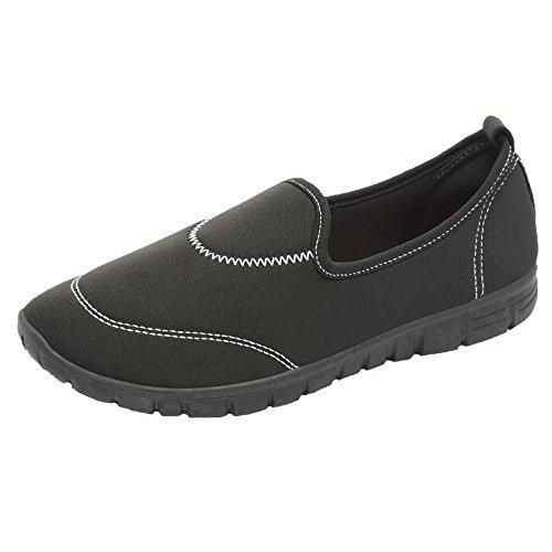 Femmes Flexi Surf Confort Chaussures Plates Décontracté Marche Chaussures Baskets Sport Holiday Allez Les Chaussures Taille 4-8
