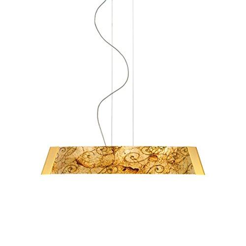 Balkenleuchte BARCA II Medici von KOLARZ, 1-flammig, LED, Gold, 2295.31L.3/me30 - Pendelleuchte Medici