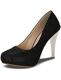 Kielz Women's Black Synthetic Shoes