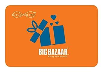 Big Bazaar Gift Voucher- Rs.1000