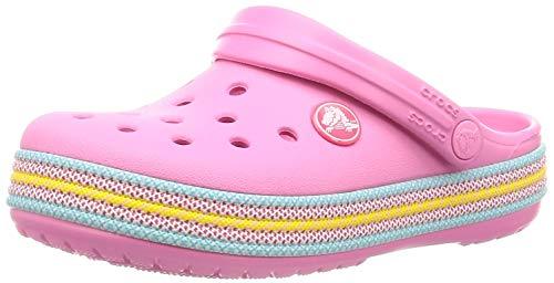 crocs Kinder Sandale Crocband Sport Cord Clog K 205899 Pink Lemonade 34-35 -