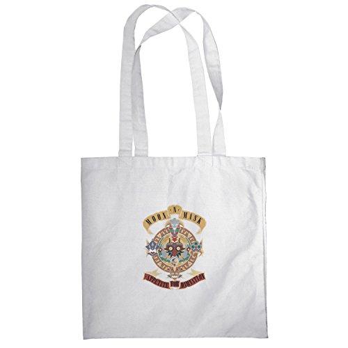 Texlab–Moon Mask–sacchetto di stoffa Bianco