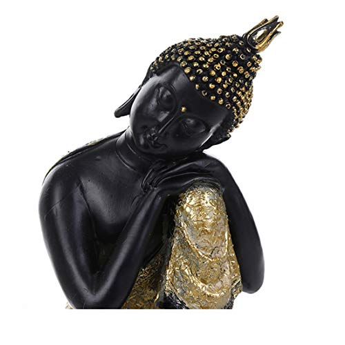 qucaojiu Budismo Adorno Buda Tathagata Estatua Tailandia Yoga Mandala Buda Esculturas Resina Artesanía Amitabha Buda Estatua