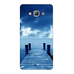Neo World Ocean Dock Back Case Cover for Galaxy A7