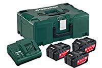 Metabo 6.85063.00 18 V Cordless Starter Kit Inlay and Metaloc Case - Green