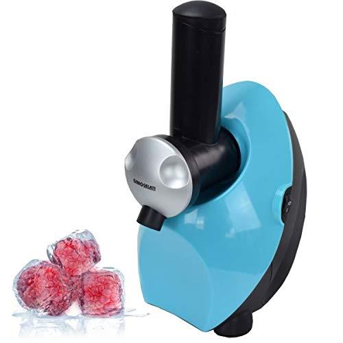 Gino Gelati 350 Watt Frucht Eismaschine für gefrorene Früchte fettfrei-kalorienarm-milchfrei-aus Früchten