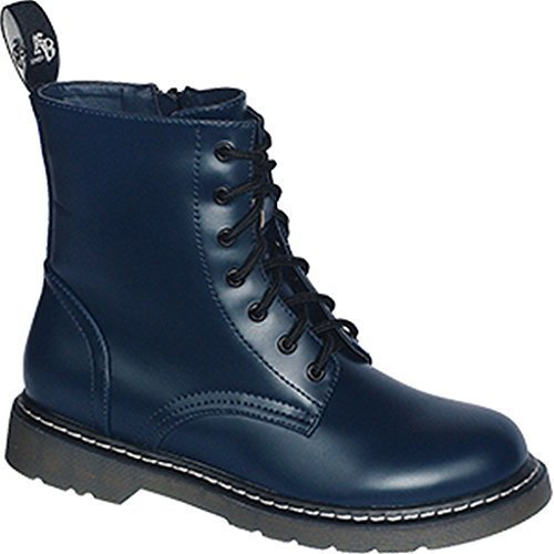 Commando Industries Knightsbridge 7 Loch Stiefel Dark Creationz Springertstiefel UK Gothic Boots 37-46 (45/11, Navy)