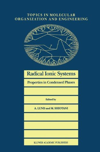 Radical Ionic Systems: Properties in Condensed Phases (Topics in Molecular Organization and Engineering) (Ionic-system)