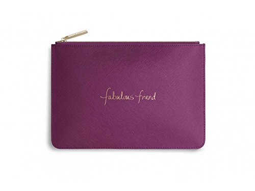 Katie Loxton - Perfect Pouch - Fabulous Friend - Cerise Pink