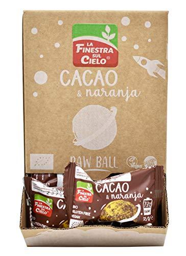 Energy ball cacao & naranja gluten free - 25 gr.