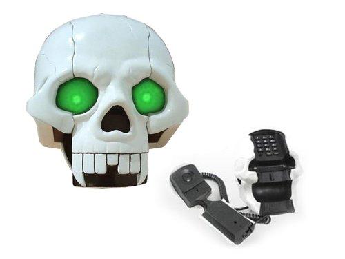 Totenkopf Telefon mit super Leuchteffekte