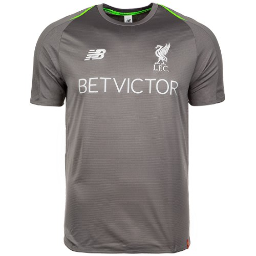New Balance FC Liverpool Elite Trainingsshirt Herren Grau, M