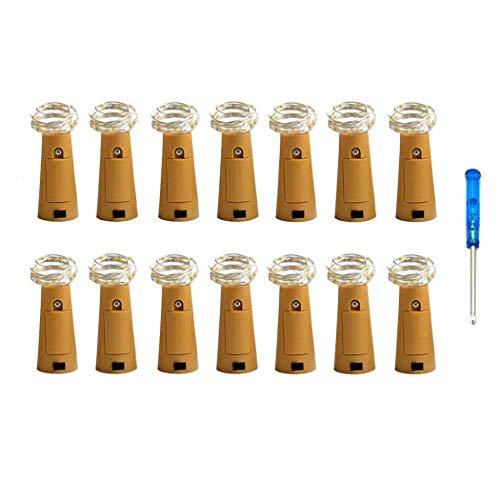 Acerca de nuestras luces de cadena de corcho * Esta mini luz de cadena para botellas está hecha con un fino alambre de cobre flexible que puede adaptarse a cualquier forma que desee. * Perfecto para colocar luces en cualquier proyecto decorativo o de...