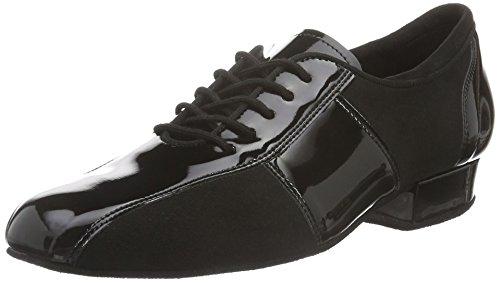 Diamant Herren Tanzschuhe 143-325-381-A, Chaussures de Danse de Salon Homme Noir