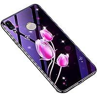 Huawei P20 Lite Hülle,Huawei P20 Lite Case,Huawei P20 Lite Gehärtetes Glas Schützhülle, Katech Überzug Weiche... preisvergleich bei billige-tabletten.eu