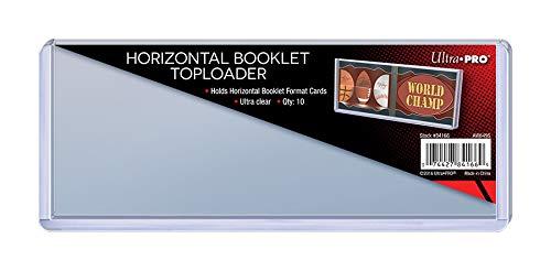 10 Ultra Pro Horizontal Booklet Toploader - 7 5/8