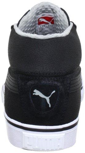 Puma S Mid City 353847 Herren Sneaker Schwarz (black-black-limestone gra 06)