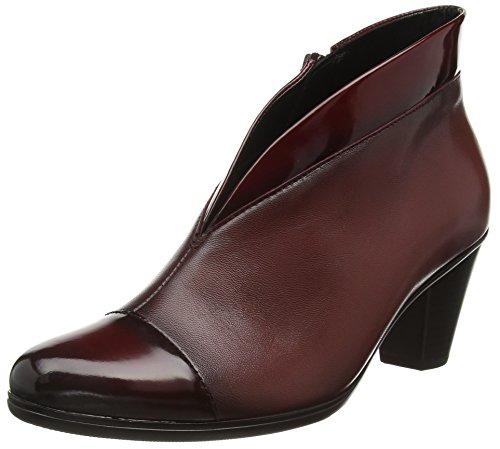 Gabor Shoes 55.616 Damen Kurzschaft Stiefel, Rot (Chianti (Effekt) 95), 40 EU (6.5 Damen UK) (Patent Trim Stiefel)