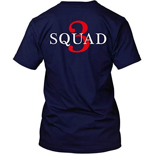 Squad 3 T-Shirt (XL, Navy) ()