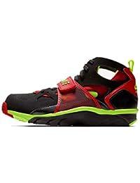 on sale ab170 3de27 Nike679083-020 - Basket Nike Air Trainer Huarache Noir Rouge (Volt Red)