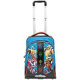 Giochi Preziosi Gormiti 19 Trolley Spinner Con 3 Ruote Sacca, 47 cm, Multicolore