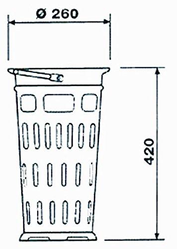 GAT Hofsinkkasten-Eimer ähnlich DIN 1236, Ausführung:lang