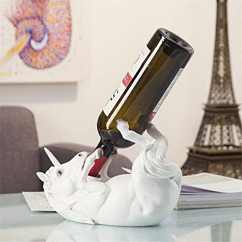 Soporte botella vino/estante vino/estatua
