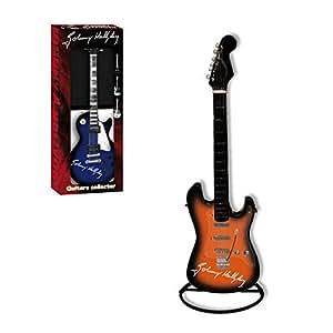 Johnny Hallyday - Guitare Decorative Johnny Hallyday - Modèle orange