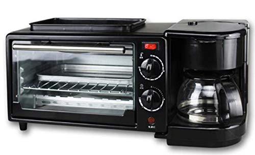 Elektrischer Ofen Multifunktions Artifact Oven Bratpfanne Kaffeekanne Drei-in-One-Frühstück...