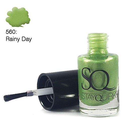 Stay Quirky Nail Polish, Green Rainy Day 560, 6ml