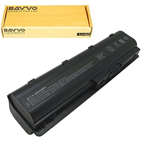 Bavvo Batería de Recambio para HP COMPAQ Presario CQ56-100XX,12 células