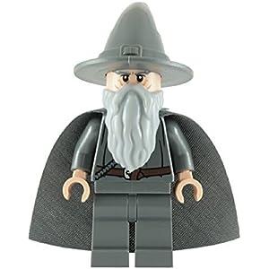 LEGO El Señor De Los Anillos: Gandalf La Gris Minifigura Con Gris Capa 5